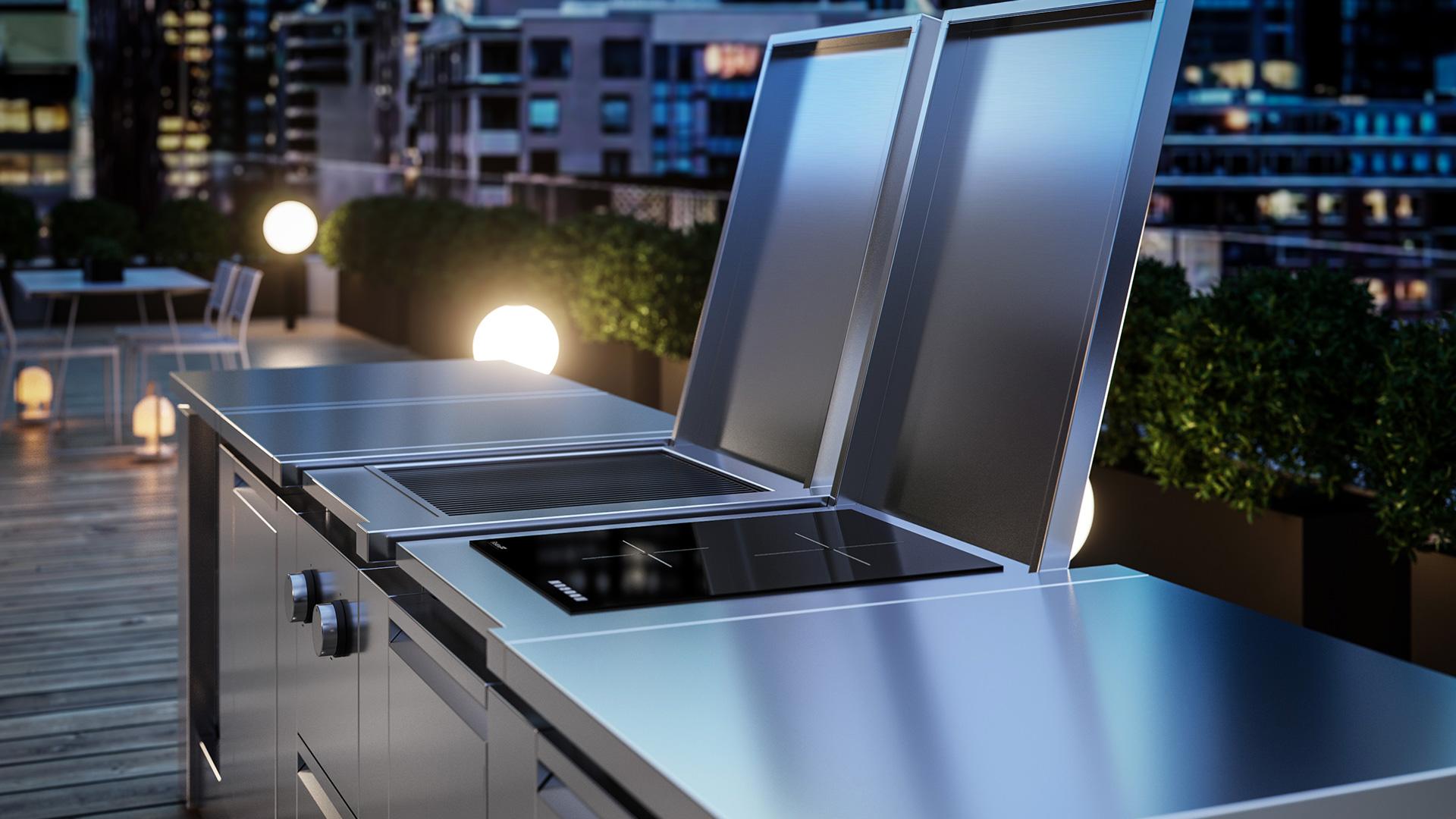 Cucine da esterno, cucine da giardino e terrazzo | ROK