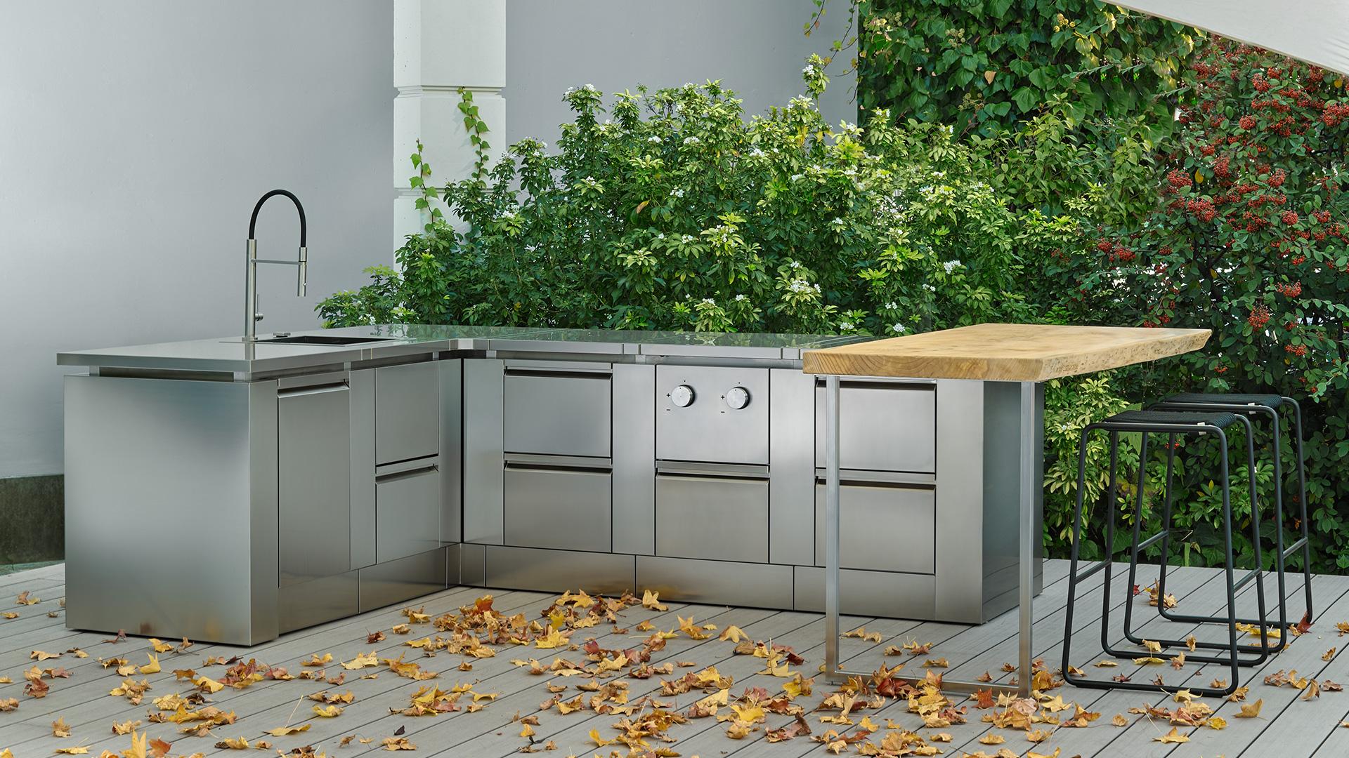 Cucine da esterno, cucine da giardino e terrazzo   ROK